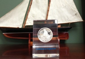 1985 Proof Prospector | Paperweight