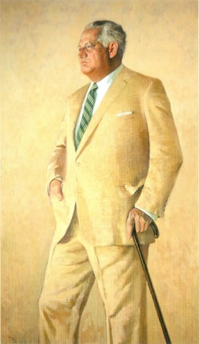 Charles W. Engelhard | 1965 Portrait