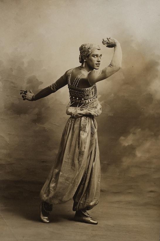 Vaslav Nijinsky | Golden Slave | 1910