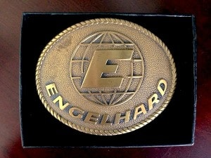 Engelhard Brass Belt Buckle
