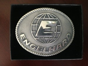 Engelhard Sterling Silver Belt Buckle
