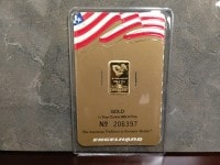 1:4oz AU Bar 206397 - Obverse