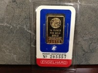 1:4oz AU Bar Obverse