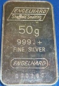 50g Engelhard Sheffield Smelting