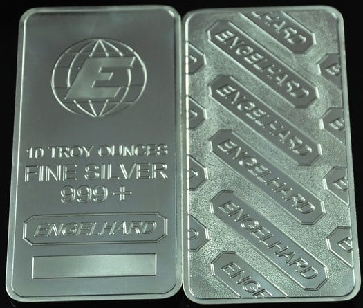 10-ounce-zinc-alloy-plated-999-fine-silver-clad-engelhard-metal-bullion-bars-wholesale-5pcs-lot