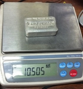 10oz Counterfeit Scale