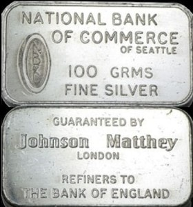 100g JM National Bank of Commerce