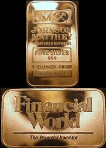 10oz JM Financial World