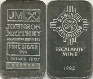 1oz JM Escalante Mine