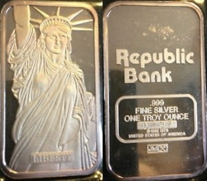 1oz JM Republic Bank