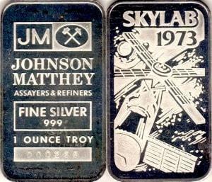 1oz JM SKYLAN1973