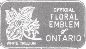 1oz JM WMM Ontario White Trillium