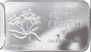 1oz JM WMM Prairie Lily Saskatchewan