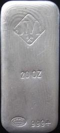 20oz JM 500 mintage  New   1 copy