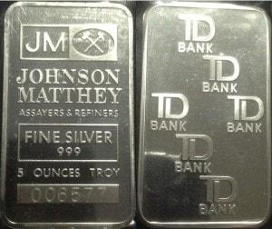 5oz JM TD Bank