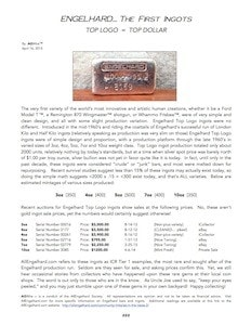 AGWire ENGELHARD TOP LOGO INGOTS 4-16-15
