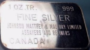 JM 1oz CANADA BLANK VARIATION