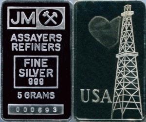 JM 5g Oil Derrick