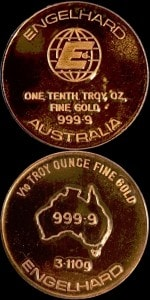 1:10OZ GOLD AUSTRALIA ROUND