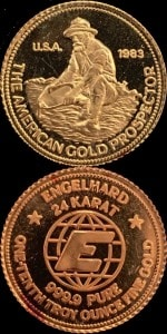1:10oz 1983 GOLD PROSPECTOR