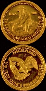 1:10oz 1986 GOLD PROSPECTOR
