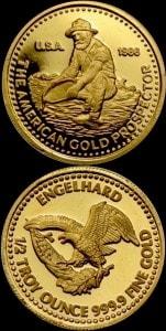 1:2OZ 1986 GOLD PROSPECTOR