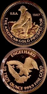 1:2OZ 1987 GOLD PROSPECTOR