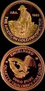 1:4OZ 1985 GOLD PROSPECTOR