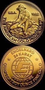 1:4oz 1982 GOLD PROSPECTOR