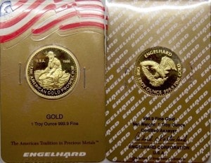 1oz 1986 Gold Prospector Assay Card