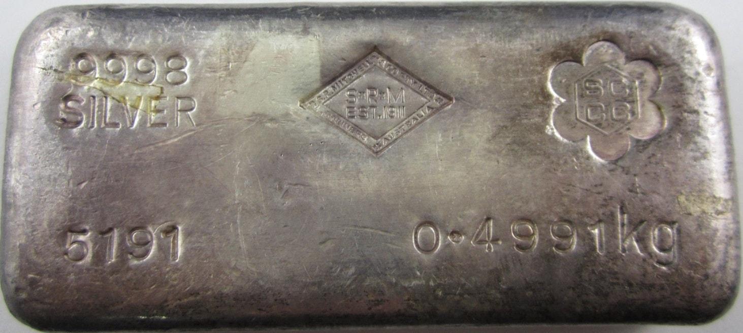 SRM 0.4991kg serial 5191 SCCC stamp 1