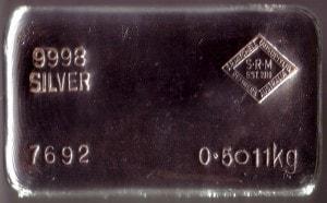 SRM 0.5 kg Serial 7692 1