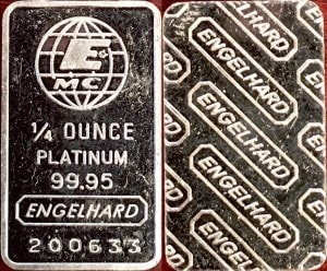 1:4oz PLATINUM BAR