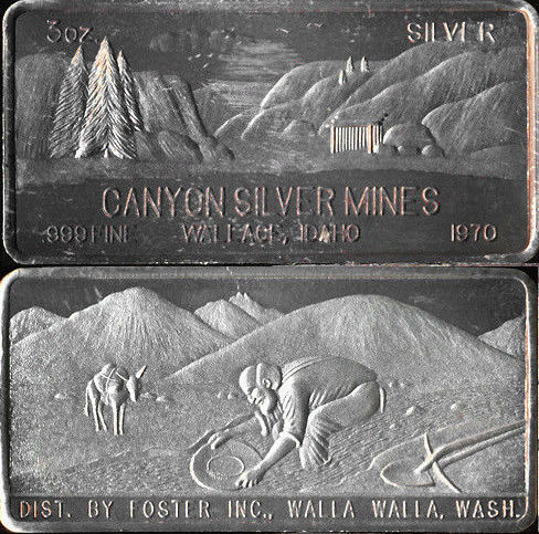 1970 CANYON SILVER MINES