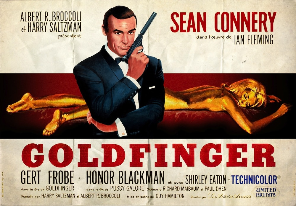 Goldfinger | Original Motion Picture Poster