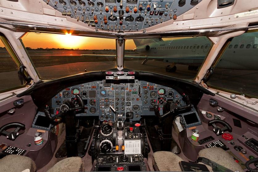 Platinum Plover | Cockpit