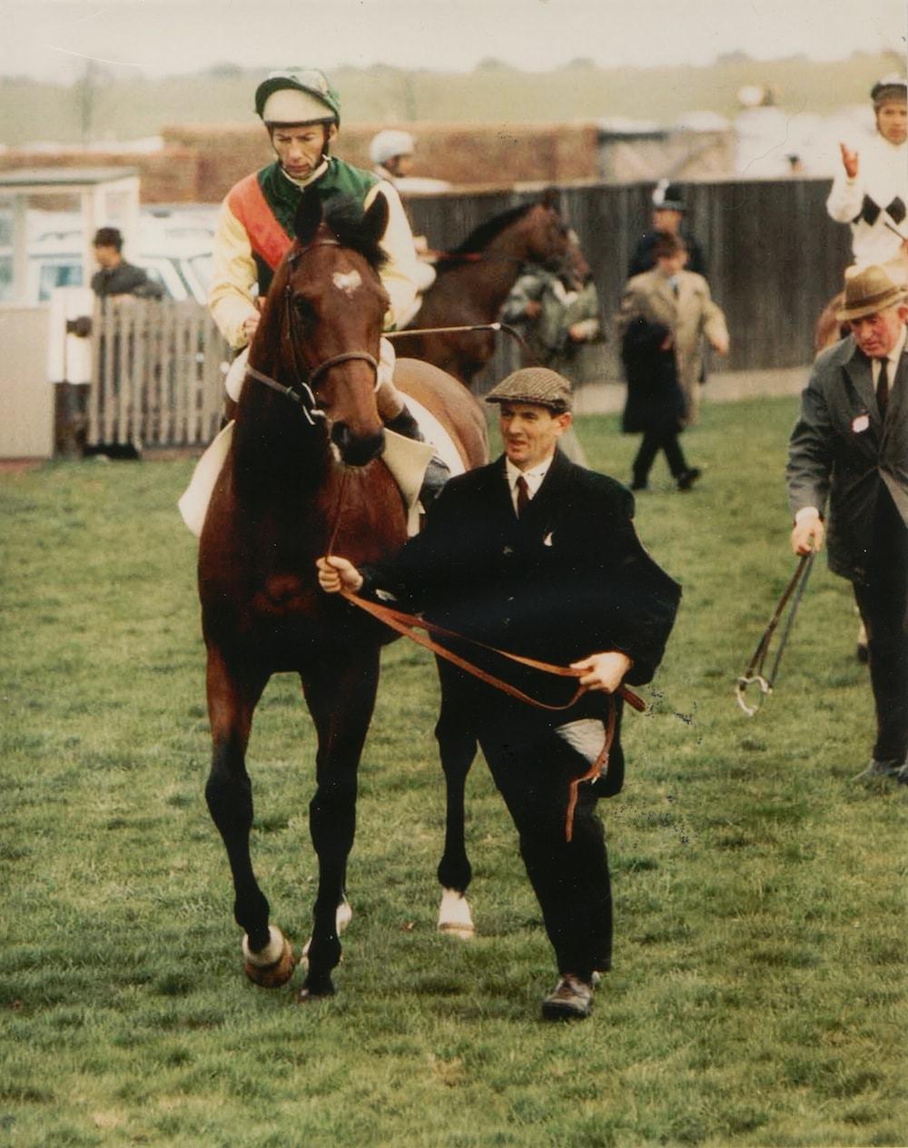 Nijinsky & Jockey Lester Piggott