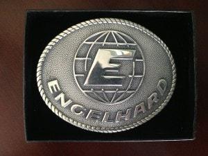 Engelhard Sterling Silver Belt Buckle