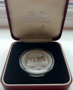 1oz 1983 Cinderford Round Case