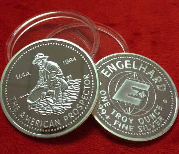 20pcs-lot-free-shipping-USA-1984-American-prospector-bullion-engelhard-style-design-one-troy-ounce-silver