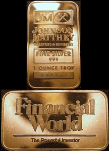 10oz JM Financial World