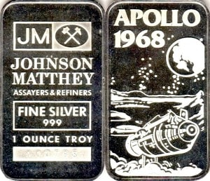 1oz JM APOLLO 1968