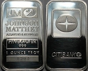 1oz JM Citibank