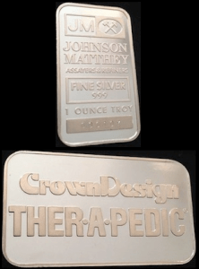 1oz JM Crown Design Therapedic