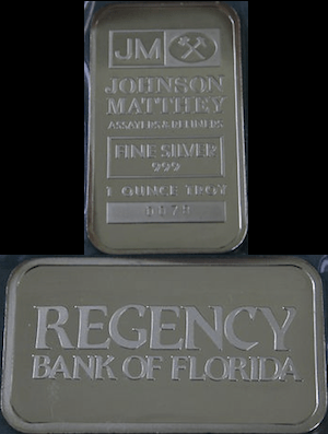 1oz JM Regency Bank