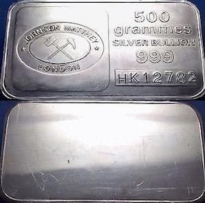 500 grammes JM London