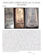 AGWire ENGELHARD LONDON BULLION INGOTS - REVISITED! 5-28-16