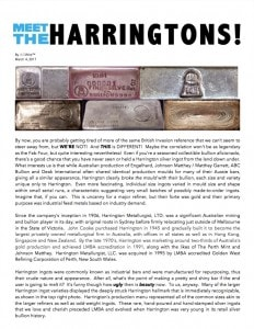 AGWire MEET THE HARRINGTONS! 3-4-17