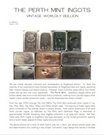 AGWire THE PERTH MINT INGOTS 8-1-15