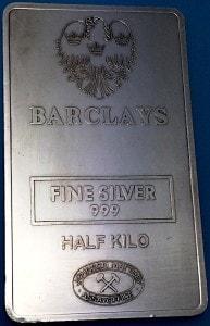 JM Barclays Half Kilo